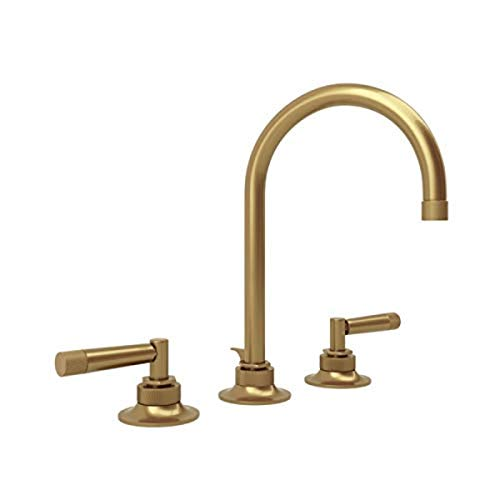 Rohl MB2019LMFB-2 LAVATORY FAUCETS, French Brass