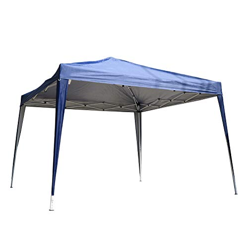 Outsunny 3 x 3 Meters Outdoor Garden Heavy Duty Pop Up Gazebo Marquee Party Tent Wedding Canopy (Blue) + Carrying Case