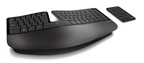 マイクロソフトキーボードワイヤレス/人間工学デザインSculptErgonomicKeyboardforBusinessUSBPort5KV-00006