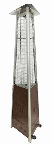 AZ Patio Heaters HLDS01-CGTHG Commercial Glass Tube Patio Heater, Bronze