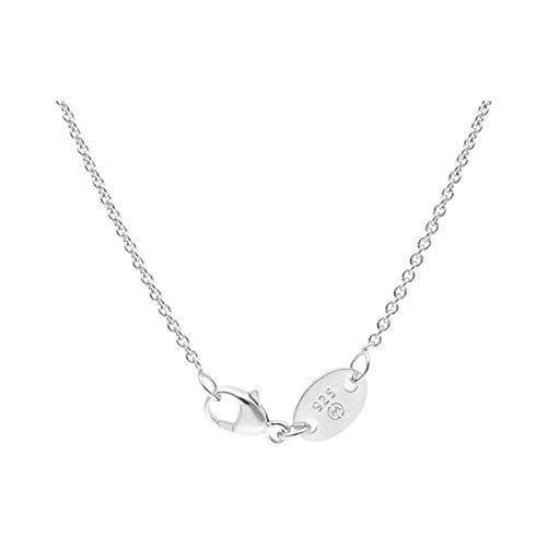 Giorgio Martello Milano Kette Im Stil Einer Ankerkette Silber, 50 925 Sterling Silber
