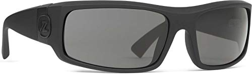 Von Zipper Kickstand Sunglasses-Black Satin-Grey
