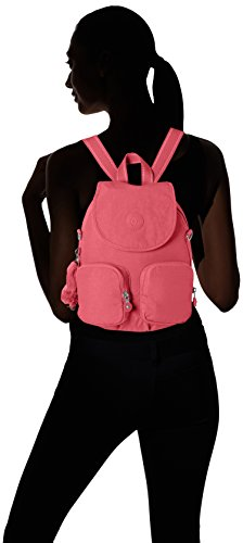 Kipling Firefly Up, Women's Backpack, Pink (City Pink), 22x31x14 cm