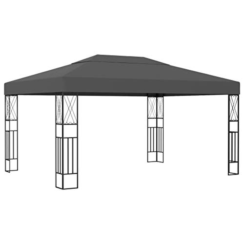 Tidyard Gazebo 3x4 m/Gazebos for Gardens Anthracite Fabric