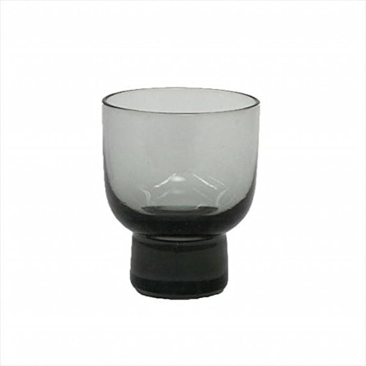 苦しめる細分化する平手打ちkameyama candle(カメヤマキャンドル) ロキカップ 「 スモーク 」 キャンドル 58x58x70mm (I8236100SM)