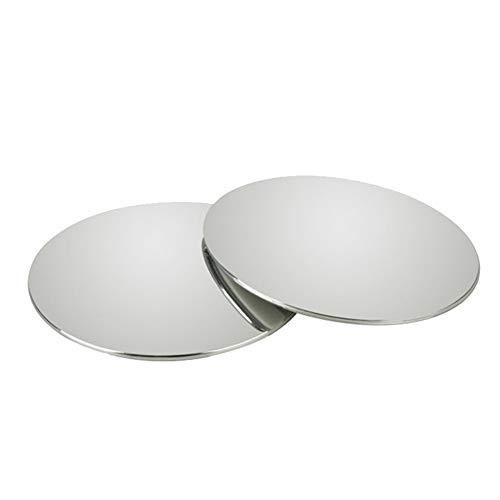 Abilie 1 Paar runder toter Winkel-Spiegel mit selbstklebendem Auto-Außenspiegel, HD Rückspiegel