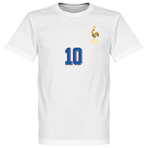 Zidane 1998 Away T-Shirt - weiß - XXL