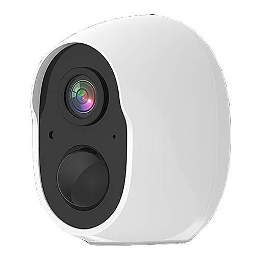 Cámara Inalámbrica Wifi, Cámara De Vigilancia 1080p Con Detección De Movimiento Por Visión Nocturna, Audio Bidireccional, Visión Nocturna, Cámara De Seguridad Para Mascotas, Batería De Larga Dura