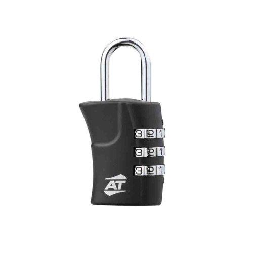 [アメリカンツーリスター] バッグ用ロック 旅行小物 鍵 3ダイヤル コンビネーション ロック 4 cm 0.01kg ブラック