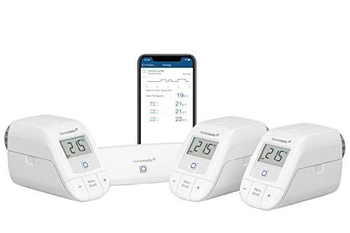 Homematic IP Starter Set Heizen – WLAN + Heizkörperthermostat – Basic