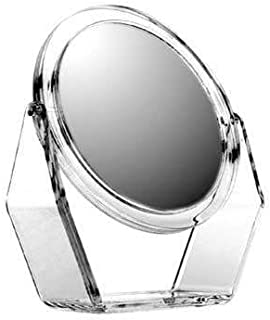 Zadro Dual Sided Swivel Vanity Mirror, Acyrlic Finish, 1X and 5X
