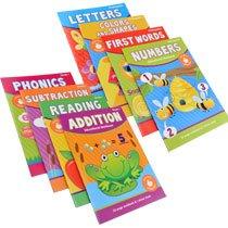 Kindergarten & First Grade Educational Workbooks Multipack