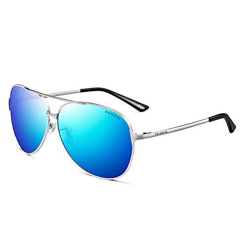 Gafas de sol aviador para hombres polarizados mujeres protección UV ligero conducción pesca deportes hombre gafas de sol