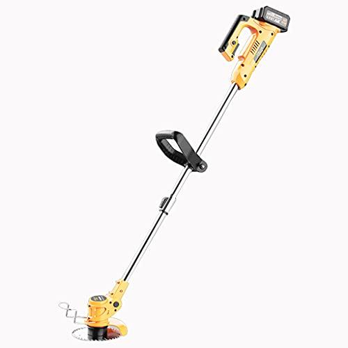 Handheld lawn mower Cortacésped eléctrico Flotante Cortacésped eléctrico de Litio 20000mA Recargable...