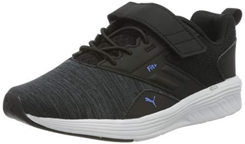 Puma Unisex Kinder NRGY Comet V Ps Sneaker, Schwarz Black-Palace Blue 16, 33 EU