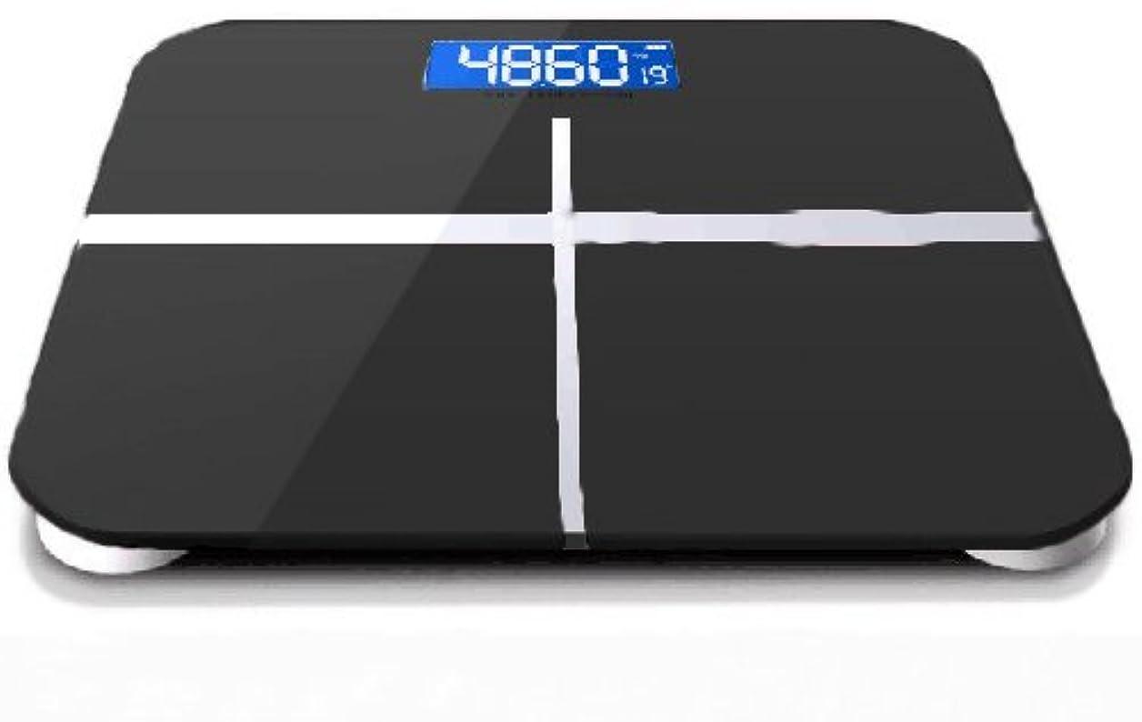 小間自体殺人デジタル ヘルスメーター 体重計 ボディスケール 180kgまで 乾電池式 単四乾電池(2本) 乾電池付属 室温表示 (ブラック)
