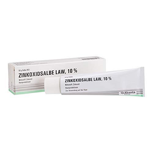 Abanta Pharma Zinkoxidsalbe LAW 10% Hautprotektivum, 50 g Salbe