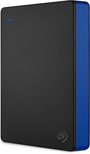 Seagate Game Drive, 4 TB, Unidad de disco duro externa, HDD portátil, compatible con PS4 (STGD4000400)