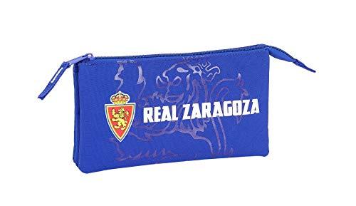 Real Zaragoza Oficial Estuche Escolar 220x30x100mm
