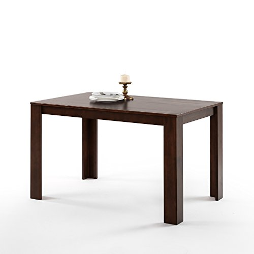 Zinus Vialeta Mission Style Wood Dining Table / Table Only, Espresso