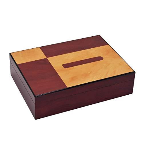 YO-TOKU Makeup Box Sigarenhumidor Box Cigarette Case 10-25 Pack Geïmporteerde Cederhout Belt bevochtiger en hygrometer constante temperatuur en vochtigheid Seal Storage Men's Gift Box ble for het nieu