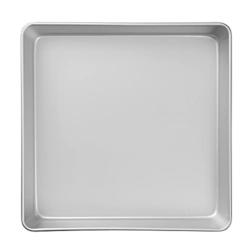 Wilton Performance Pans Aluminum Square Brownie and Cake Pan, 12 x 12 inches
