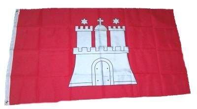 Fahne / Flagge Hamburg NEU 90 x 150 cm Flaggen