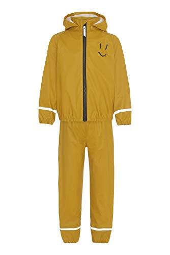 Molo - Regenanzug für Kinder - Zet Smiley - Gelb