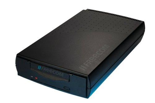 Freecom Streamer DAT72e DDS5 SATA/USB extern 36/72GB 13,3cm HH schwarz + beige Blende ohne Medien ohne SW mit Kabel Qúantum Techn.
