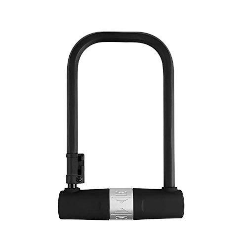 GUOCAO MTB bloqueo antirrobo de bloqueo candado en U portátil plegable bicicletas Muerto Coaster de bloqueo en forma de U con equipos de Frame Lock Bicicleta