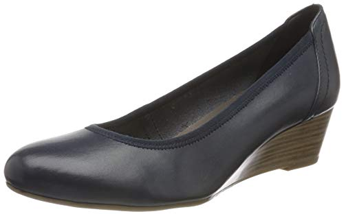 Tamaris Damen 1-1-22320-24 Pumps, Blau (Navy 805), 38 EU