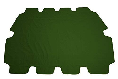 Spetebo Ersatzdach für Hollywoodschaukel in grün - Universalgröße/Wasserdicht - Sonnendach Hollywoodschaukel Dach PVC