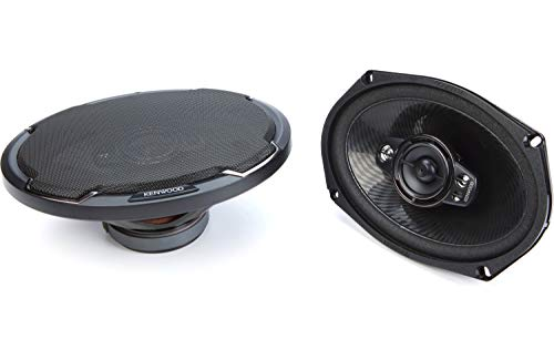 Kenwood KFC 6996PS 6 x 9 Inch 5 Way Car Speakers 650W Maximum Power Handling