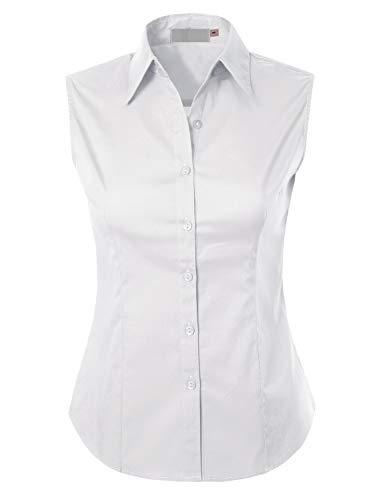 Top 10 Best Womens Sleeveless Button Down Shirt Comparison