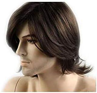 شعر مستعار للرجال لون بني رائع