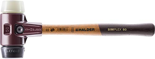 SIMPLEX-Schonhämmer, mit Stahlgussgehäuse und hochwertigen Holzstiel | Ø=40 mm | 3028.040