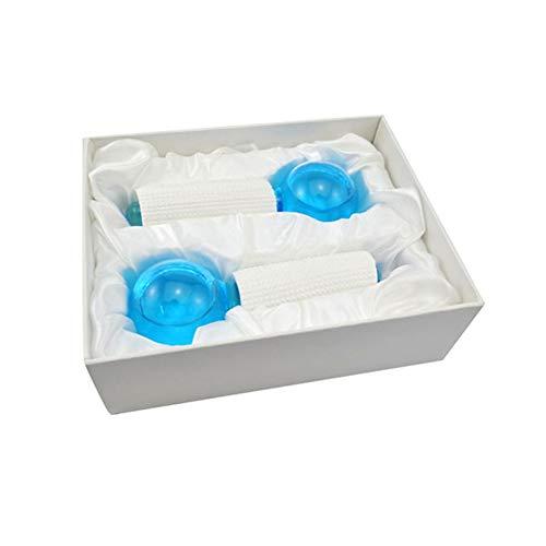 TOOGOO Boule Magique Cool Outil de Massage Facial pour le Visage et le Cou Hockey, Cryo Globes Magique