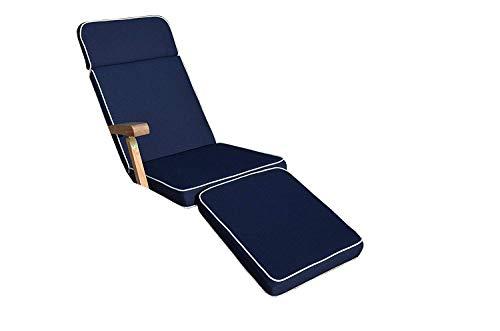 Field & Hawken Coussin de Steamer/Chaise Longue - Couleur du Coussin : Bleu Marine