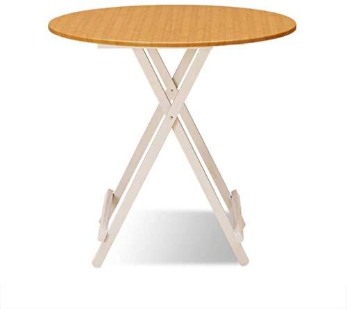 JIAHE115 draagbare kleine salontafel computertafel houten klaptafel, keuken eten, outdoor camping koffie salontafel ronde klaptafel computertafel
