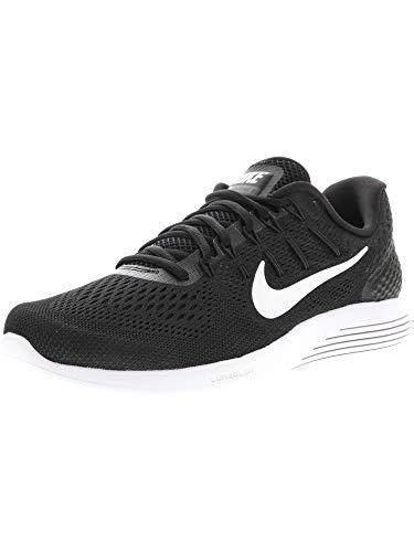 Nike Lunarglide Men's Running Shoe, Black/White, 9.5