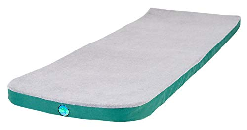 LaidBackPad Memory Foam Camping Mattress with Built-in Connector, Air Mattress for Camping- 24 x 72 x 2⅜ Inches, 8.5 lbs