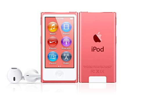 M-Player Apple iPod Nano 7th Generation 16GB Pink (Packaged in White Box with Generic Accessories)