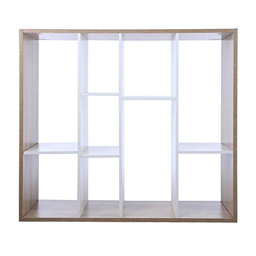 Zoternen 9 kubussen Opslag Unit Deeltjesplankkast Kast Boekenkast Organisator Home Office Planken, 100 x 32 x 90cm