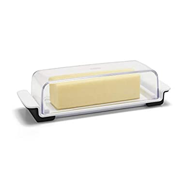 OXO 11122500 Good Grips Butter Dish, White/Clear