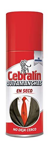 Cebralín - Quitamanchas en Seco para textiles - Pack de 3 x 134 ml