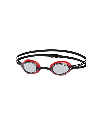 Speedo 8-10896B572 Swimming Goggles, Unisex Baby, Red (Lava / Smoke), One Size