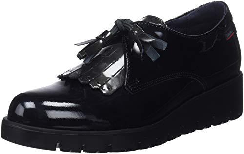 Callaghan Haman, Zapatos de Cordones Derby Mujer, Negro (Black 1), 39 EU