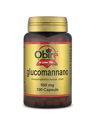 Obire | Glucomanano 500 mg | 100 Cápsulas