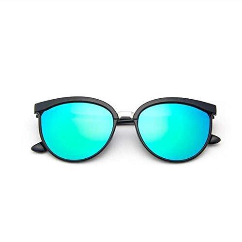 FJCY Rectángulo Gafas de Sol con Montura Grande Hombres polarizados Lente Uv400 Gafas de Sol de Moda Retro Conducción de Hombres y mujeres-6-Kpd1909-C2