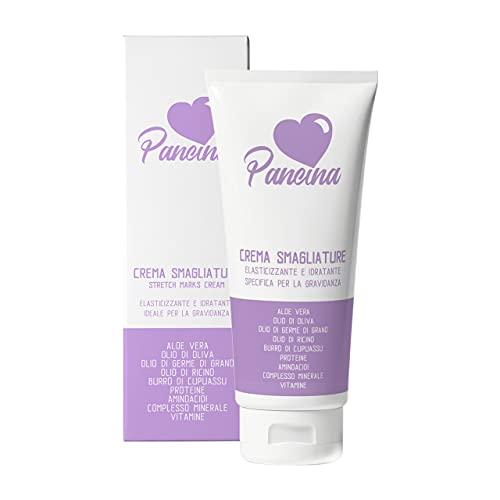 Pancina | crema antismagliature idratante ed elasticizzante per la gravidanza | crema anti smagliature ipoallergenica clinicamente testata | 200 ml